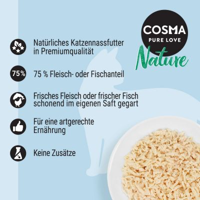 Cosma Nature 12 x 280 г