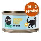 Cosma Nature 12 x 70 g en oferta: 10 + 2 latas ¡gratis!