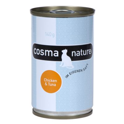 Cosma Nature 12 x 140 g - Pack económico