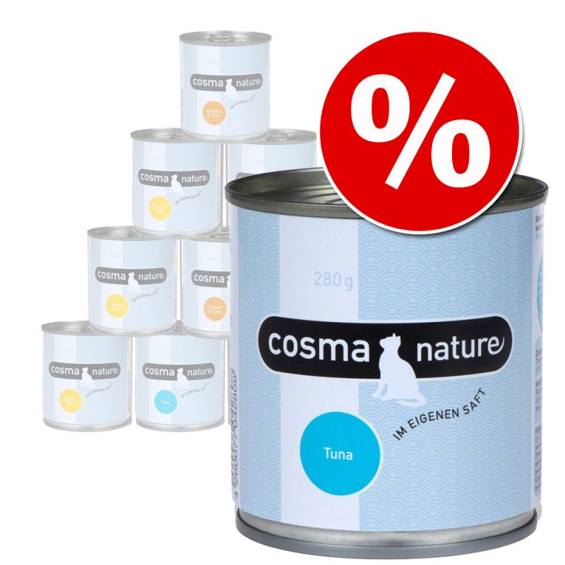 Cosma Nature 12 x 280 g - Pack económico