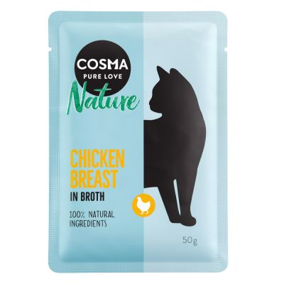 Cosma Nature 6 x 50 g pour chat