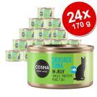 Cosma Original em gelatina comida húmida para gatos 24 x 170 g - Pack económico