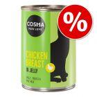 Cosma Original en gelée 12 x 400g pour chat à prix avantageux !