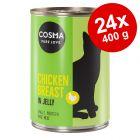 Cosma Original hyytelössä -säästöpakkaus 24 x 400 g