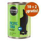 Cosma Original o Asia 12 x 400 g latas en oferta: 10 + 2 ¡gratis!