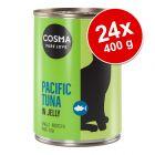 Cosma Original ou Asia 24 x 400 g - Pack económico
