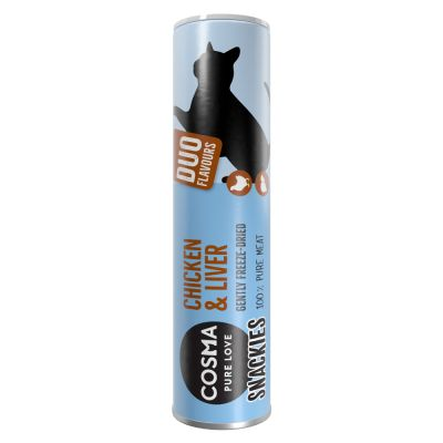 Cosma Snackies DUO 2 in 1 - Freeze-dried Cat Snacks