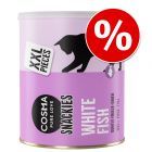 Cosma Snackies Maxi Tubo snacks para gatos a preço especial!
