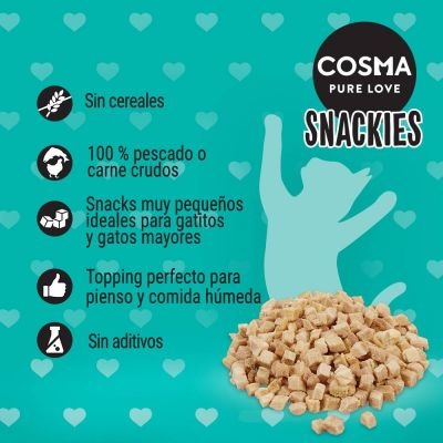 Cosma Snackies Minis snacks para gatos - Pack Ahorro