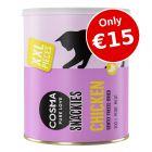 Cosma Snackies XXL Maxi Tube Cat Snacks - Only €15!*