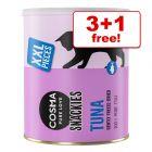 Cosma Snackies/XXL Snackies Maxi Tubes Cat Snacks - 3 + 1 Free!*
