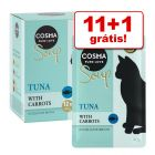 Cosma Soup comida húmida 12 x 40 g em promoção: 11 + 1 saquetas grátis!