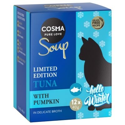 Cosma Soup Winter Edition - Tuna with Pumpkin