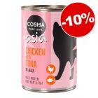Cosma Thai/ Asia ou Original pour chat 24 x 400 g : 10 % de remise !