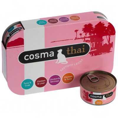 Cosma Thai in Jelly 6 x 85 g