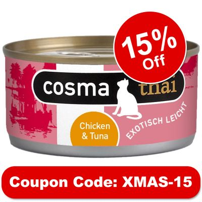 Cosma Thai in Jelly 6 x 170g