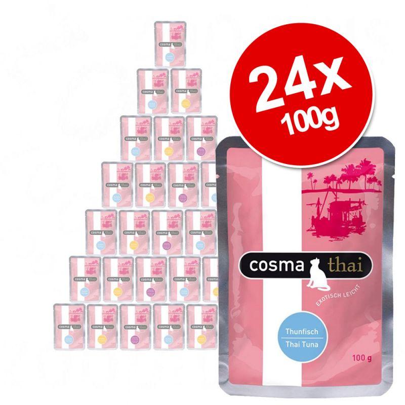 Cosma Thai Pouch Saver Pack 24 x 100g