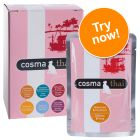 Cosma Thai/Asia in Jelly Pouches Mixed Trial Pack