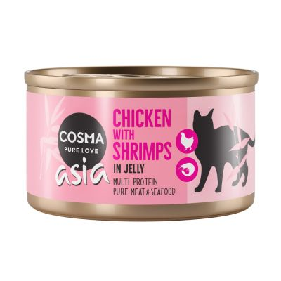 Cosma Thai/Asia in Jelly Saver Pack 24 x 85g