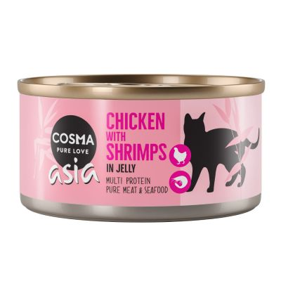 Cosma Thai/Asia in Jelly Saver Pack 24 x 170g
