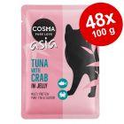 Cosma Thai/Asia Pouches -säästöpakkaus 48 x 100 g