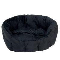 Cosy Panther Pet Bed - Black