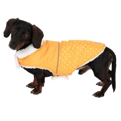 Cozy Polkadots Dog Coat
