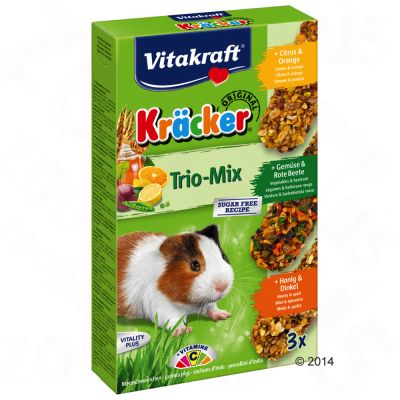Crackers Vitakraft, cochon d'Inde