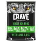 Crave Adult com cordeiro e vaca ração para cães