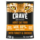 Crave Adult karma sucha dla kota, indyk i kurczak