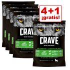Crave Adult 1 kg pienso para perros en oferta: 4 + 1 ¡gratis!
