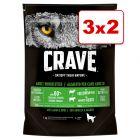 Crave Adult 3 kg pienso para perros en oferta: 2 + 1 kg ¡gratis!