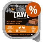 Crave Adult patê comida húmida 1 x 150 g a preço especial!