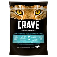 Crave Adult saumon, poisson blanc pour chat