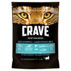 Crave Adult suha hrana za mačke s lososom i bijelom ribom