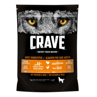 Crave Adult Turkey & Chicken Dry Dog Food