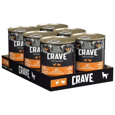 Crave Adult umido 6 x 400 g