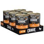 Crave Adult Wet Dog Food 6 x 400g