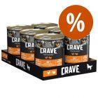 Crave Adult 6 x 400 g para perros  ¡con descuento!