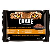 Crave Adult 4 x 85 g pour chat