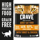Crave Cat Adult Kalkun & Kylling