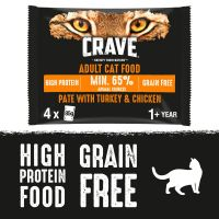 Crave Cat Pouches Trial Pack 4 x 85g