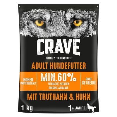 Crave Dog Adult Kalkun & Kylling