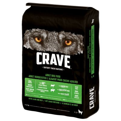 Crave Dog Adult Lam & Okse