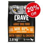 Crave Dry Dog Food - 20% Off!*