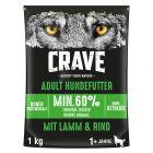 Crave Hundefutter Trocken Adult mit Lamm & Rind