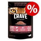 Crave Kat Maaltijdzakjes Kattenvoer 24 x 85 g