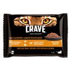 Икономична смесена опаковка Crave за котки в паучове 48 x 85 г