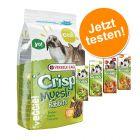Crispy Müsli Kaninchen + Versele-Laga Sticks zum Sonderpreis