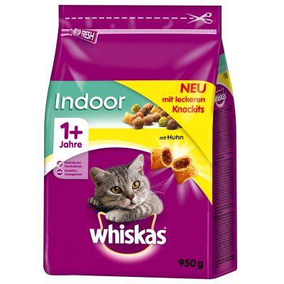 Crocchette Whiskas 1+ Indoor Pollo